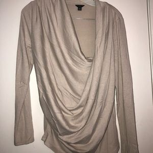 Ann Taylor scoop neck sweater top